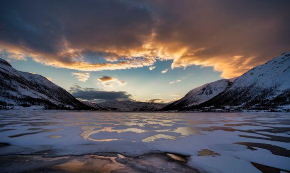 Фото бесплатно Норвегия, горы Норвегии, природа
