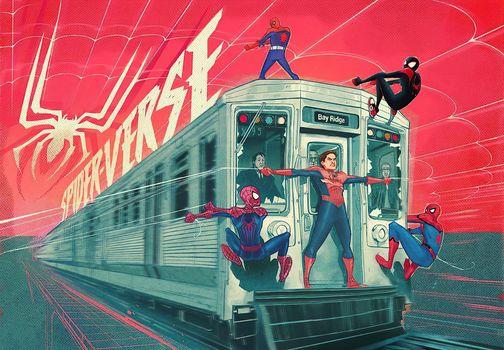 Фото бесплатно произведение искусства, юмор, Человек-паук