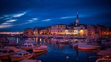 Фото бесплатно города, Хорватия, лодки