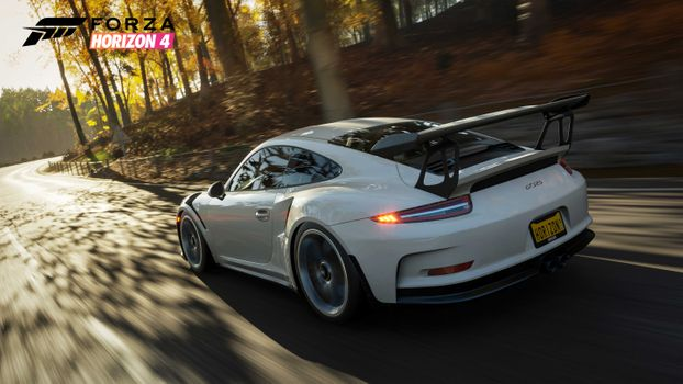 Фото бесплатно Porsche, Forza Horizon 4, 2018 Games