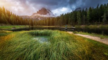 Photo free Lake Antorno, Italian, Dolomites