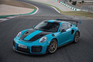 Фото бесплатно Porsche, 2017 автомобили, Porsche 911