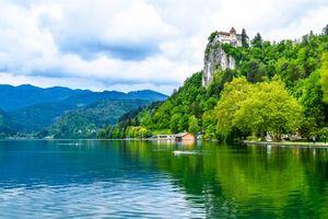 Заставки Бледское озеро, Блед, Словения