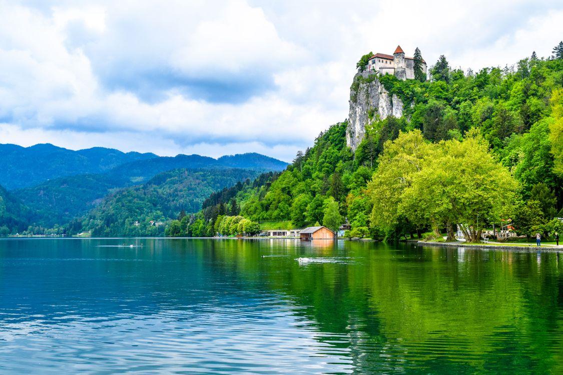 Фото Бледское озеро Блед Словения - бесплатные картинки на Fonwall