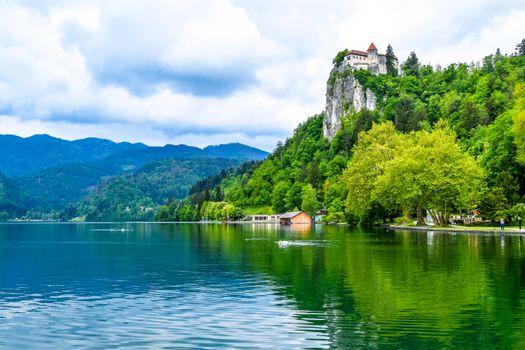 Фото бесплатно Бледское озеро, Блед, Словения