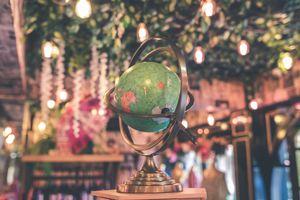 Photo free globe, stand, map