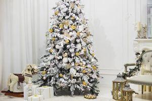 Фото бесплатно праздник, Новый год, декор, подарки, игрушки, елка