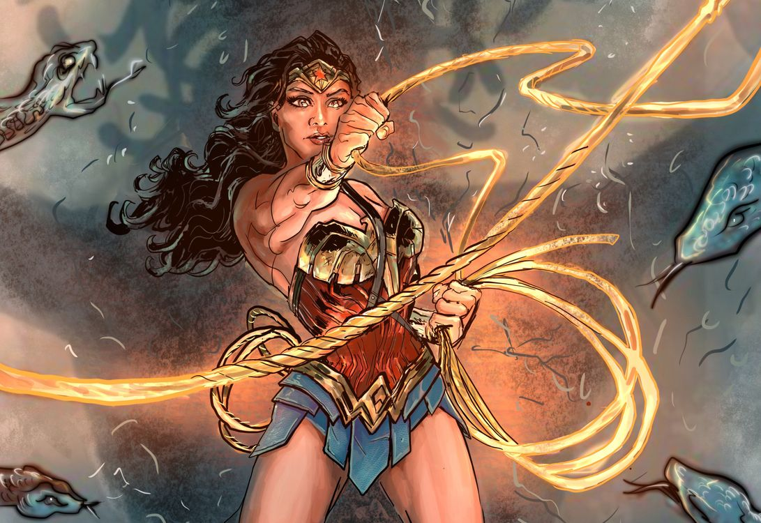 Photos for free Wonder Woman, superheroes, deviantart - to the desktop