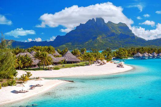 Красивые картинки море, остров бесплатно