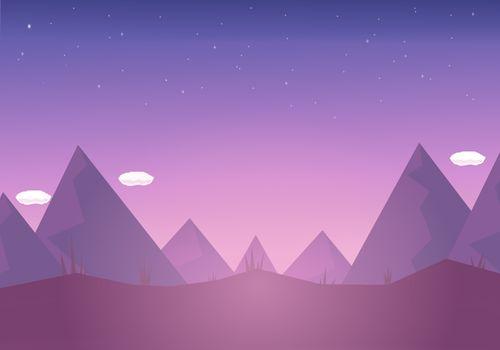 Фото бесплатно горы, минимализм, художник