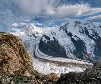 Фото бесплатно Швейцария, ледник, горы
