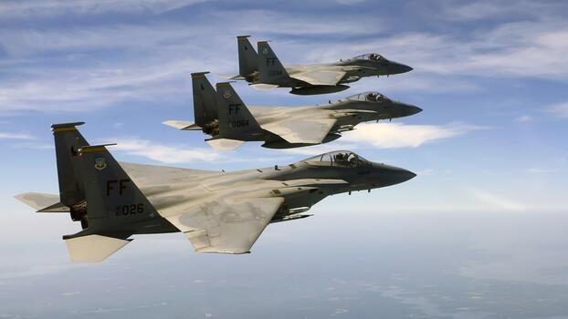 Photo free McDonnell Douglas F-5E Strike Eagle, shenyang j, Lockheed Martin F-22 Raptor