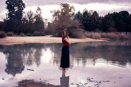 Фото бесплатно женщины на открытом воздухе, модель, вода