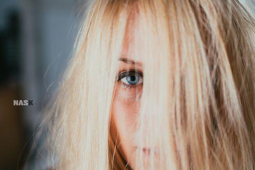Фото бесплатно блондинка, модель, близко