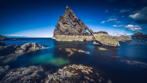 Фото бесплатно природа, океан, рок
