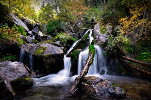 Photo free nature, waterfalls, parks