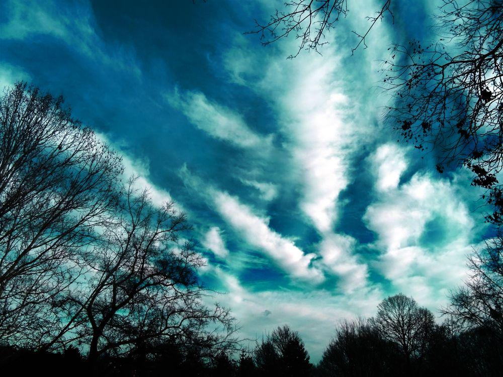 Красивое небо · бесплатное фото