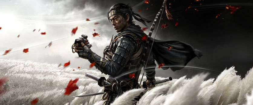 Photo free Ghost Of Tsushima, games, wars