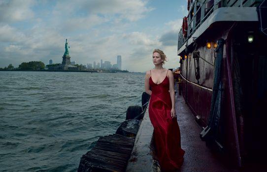 Фото бесплатно Jennifer Lawrence, женщина, актриса