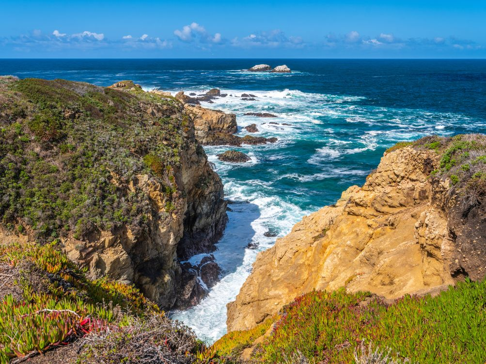 Фото американский океан США прибрежное сша - бесплатные картинки на Fonwall