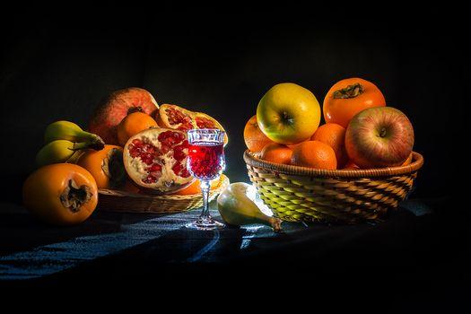 Фото бесплатно яблоки, натюрморт, еда