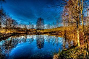 Бесплатные фото озеро,осень,деревья,пейзаж