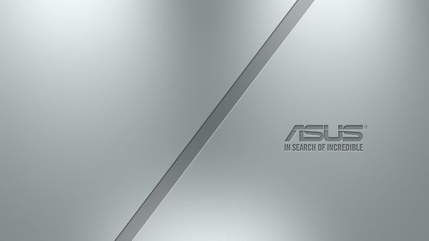 Photo free asus, silver, logo