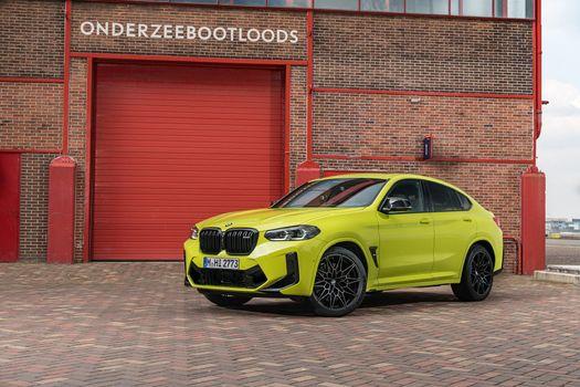 Photo free yellow green metallic, BMW, crossover