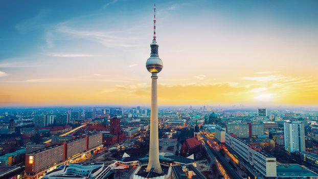 Photo free Berlin, buildings, tower