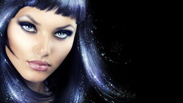 Photo free make-up, sight, Anna Subbotina