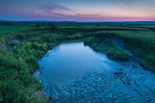 Фото бесплатно Французская река, Национальный парк Луга, Саскачеван