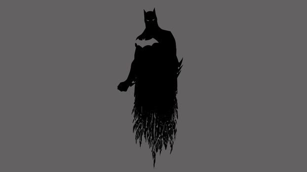Бесплатные фото минимализм,Бэтмен,DC Комиксы,силуэт