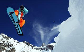 Фото бесплатно горы, лыжи, спорт