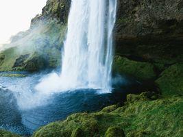Бесплатные фото Исландия,пейзаж,природа,водопад