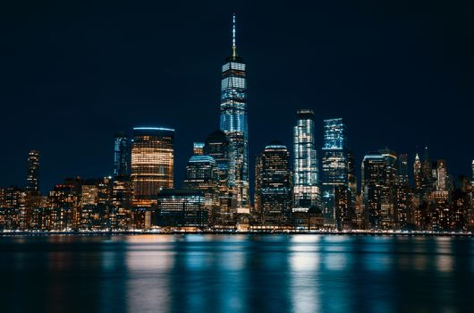 Фото бесплатно США, Всемирный торговый центр, небоскребы