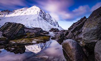 Фото бесплатно природа, камни, горы Норвегии