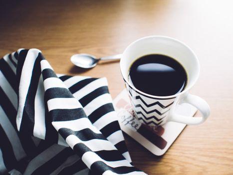 Photo free coffee, cup, towel