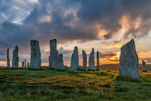 Photo free Callanish, an ancient cult place, Scotland