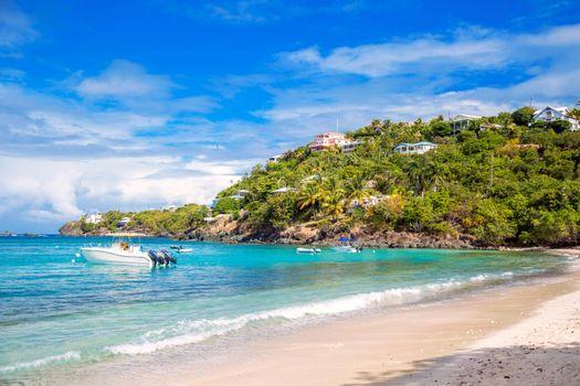 Фото бесплатно море, пляж, лодки