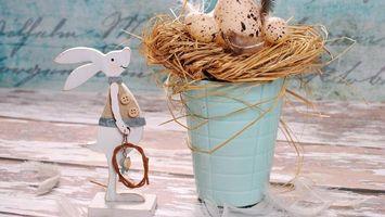 Фото бесплатно пасха, декор, кролик