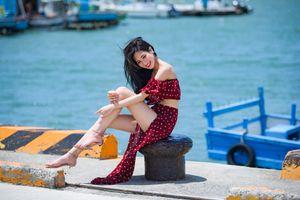 Photo free asian dress, asian girls, brunette