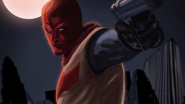 Заставки Red Hood, картинки, супергерои