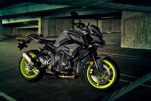 Photo Yamaha, motorcycles without registration