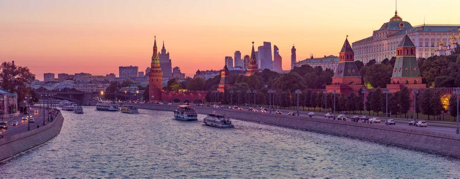 Заставки Kremlin, закат, Russia