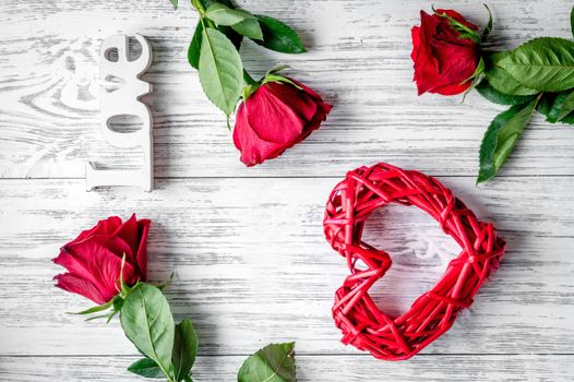 Photo free heart, rose, roses heart