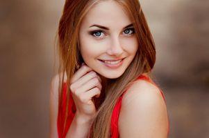 Фото бесплатно блондинка, модель, улыбаясь