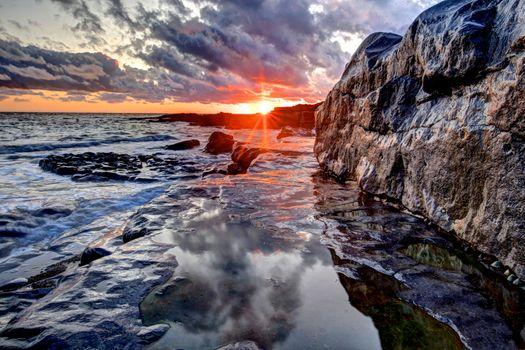 Photo free Glamorgan, coast, Wales
