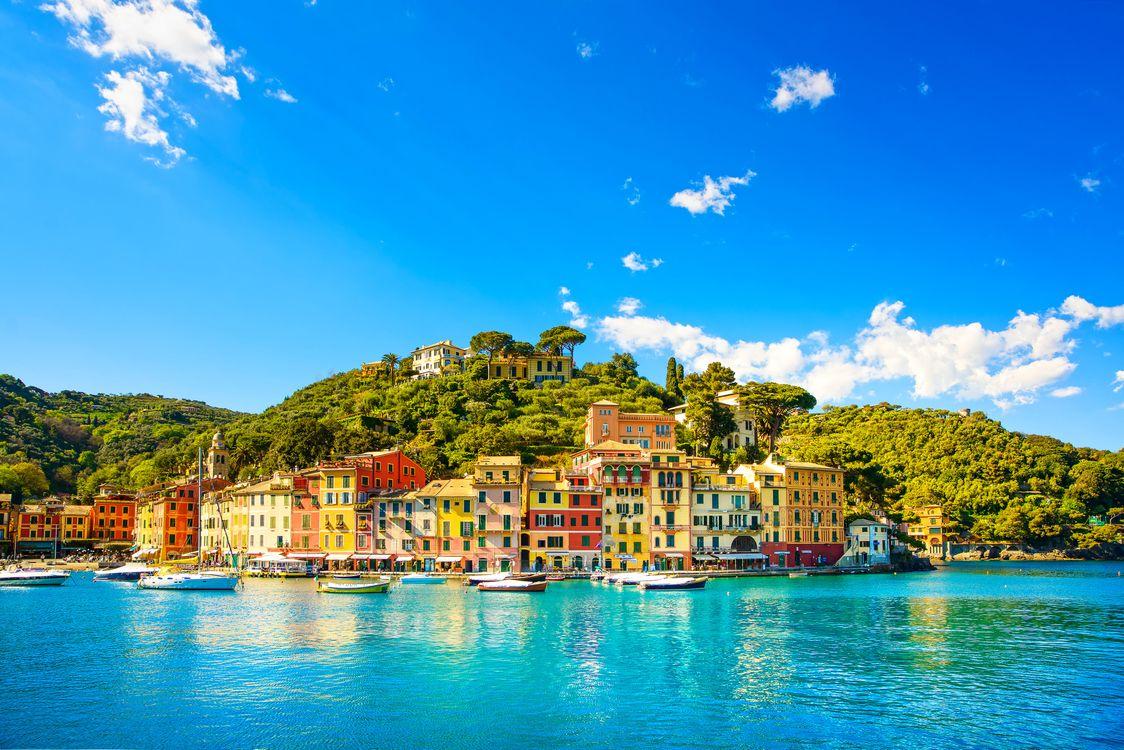 Фото бесплатно Тоскана, Италия, море, яхты, город