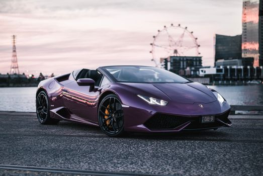 Photo free Lamborghini Huracan, convertible, Lamborghini