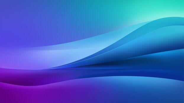 Photo free waves, blue, gradient